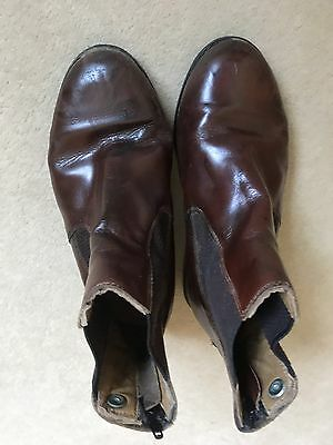 Kids Jodhpur Boots Brown Size 2