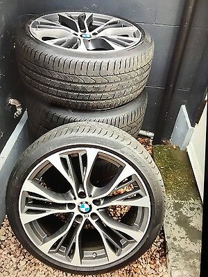 "BMW X5 21"" Alloy Wheels and Tyres"