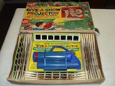 Kenner Give A Show Projector 1963 Rare With Slides Untested Vintage