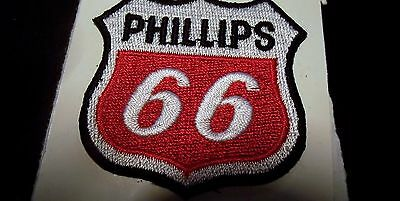 """Phillips 66 cloth patch 2"""" X 2"""" NOS"""