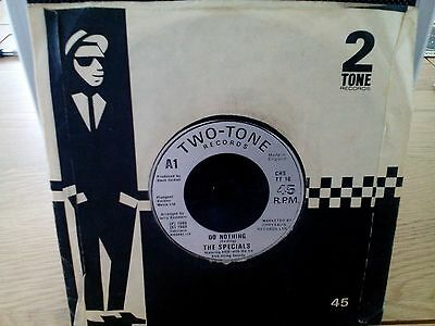 The Specials - Do Nothing 7 inch vinyl