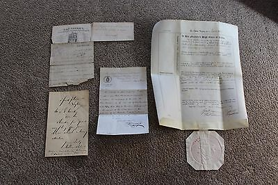 leicester temperance and permanent building society letter  dated 1883 plus more