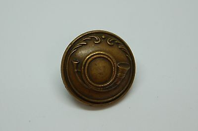 French Nobility Antique  Livery Button Hunting Horn Superieur France