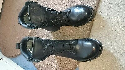 army boots original leather GORE-TEX size 10 uk