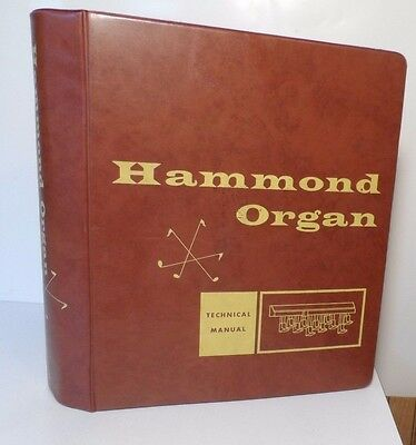 Hammond Organ Technical Manual Binder - Piper Sounder Maverick