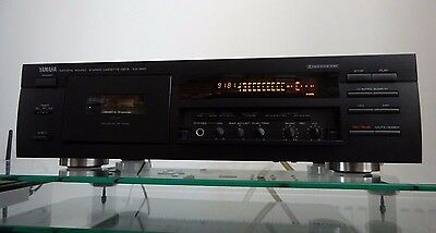 Yamaha KX-580 Stereo Cassette Deck - Audiophile-Grade - GF Head/Dolby S - Mint!