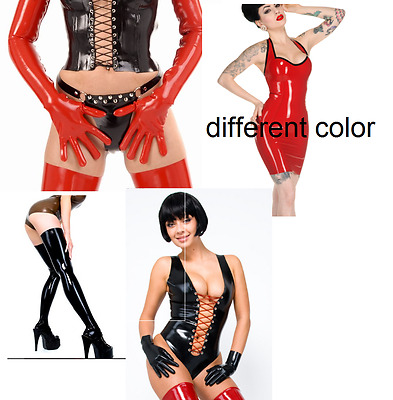 Latex SET dress accessoires Melissa Pumps NEU Libidex Latexa Dirrty rubber>820€