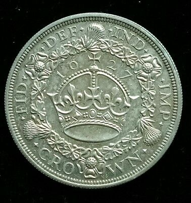 1927 Proof Wreath Crown British Silver Coin George V [Only 15,030 Struck]