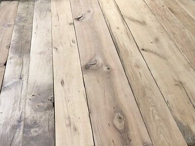 Antique Reclaimed Wide Oak Flooring Floorboards