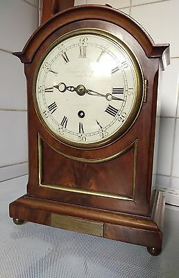 Small frodsham fusee bracket clock