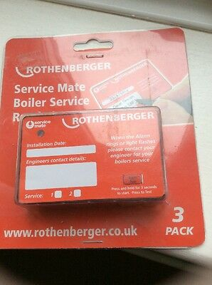 Rothenberher Service Mate Boiler Service Reminder 3 In A Pack New