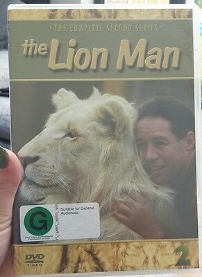 The Lion Man - Series 2 Complete (DVD, 2011, 3-Disc Set) NEW & SEALED