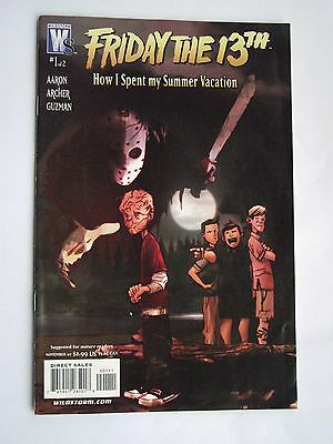 Friday the 13th: How I Spent my Summer Vacation: Paperback Comic. 2007 Mint Con