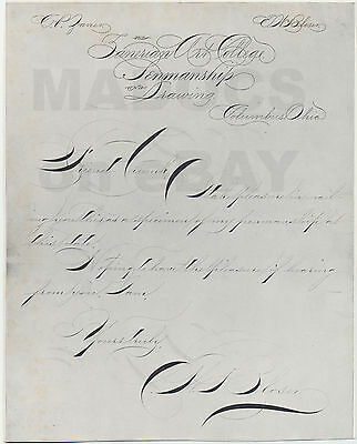 LOT 4 Large EW Bloser Letters, Photoengraved Proof Prints EA  Lupfer Collection