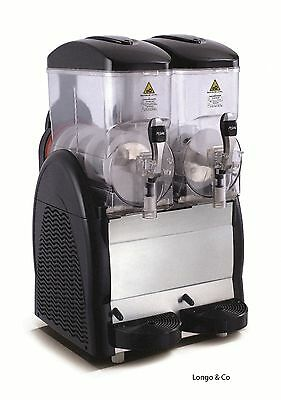 New 2 Container Slush Machine black