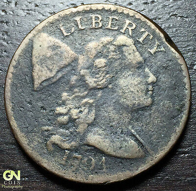 1794 Flowing Hair Large Cent --  MAKE US AN OFFER!  #W5236 ZXCV