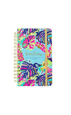 LILLY PULITZER - LAST 3 - 2016-2017 Agenda  - 17 month - Exotic Garden - Medium