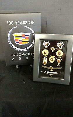 Collectible GM Cadillac 100 Years of Innovation Pins from 1902 - 2000 NIB