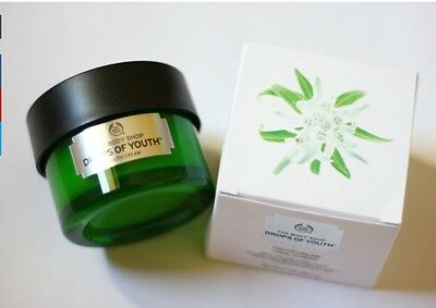 NEW THE BODY SHOP Drops of Youth Cream 50ml Enhancing Anti Wrinkle Anti Ageing