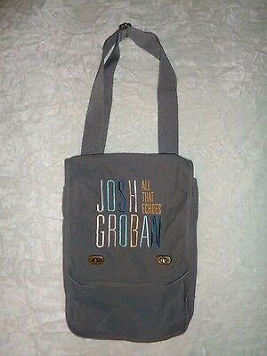 Josh Groban all that echoes Gray Canvas Bag
