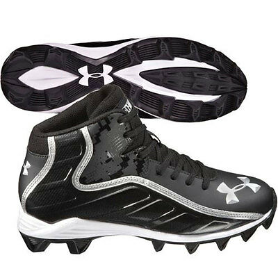 Under Armour Hammer Mid American Football Cleats Boots - UK 2.5