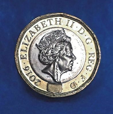 NEW UNCIRCULATED 2016 2017 Twelve (12) Sided ONE POUND £1 UK COIN / USA SELLER!