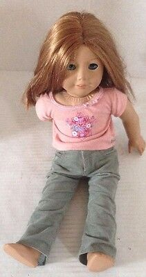 American Girl Doll- Emily. Molly's Best Friend 18 Inch Retired Blue Eyes