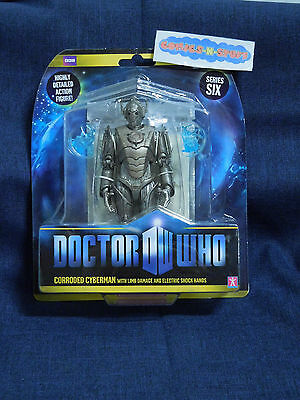 Doctor Who DW CORRODED CYBERMAN w/ Limb Dmg & Shock Hands Series 6 Action Figure