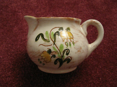 Vintage Ceramic Creamer 3 Inches Tall