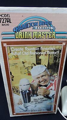 Vintage Hamilton Beach  Drink Master Blender/Mixer In Original Box With Papers!*