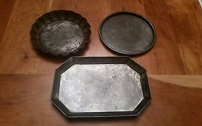 Antique Kitchenware Lot of 3