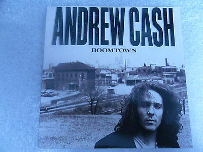 """Andrew Cash  """"boomtown"""" On The Island Label 1989"""