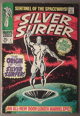 The Silver Surfer / #1 / Marvel Comics / 1968 (see details)