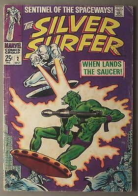 The Silver Surfer / #2 / Marvel Comics / 1968 (see details)