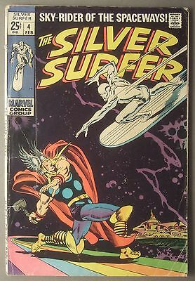 The Silver Surfer / #4 / Marvel Comics / 1969 (see details)