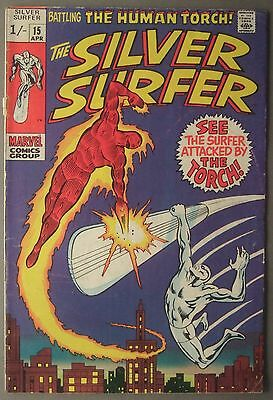 The Silver Surfer / #15 / Marvel Comics / 1970 (see details)