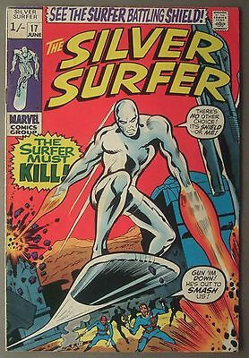 The Silver Surfer / #17 / Marvel Comics / 1970 (see details)
