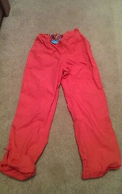 childs walking trousers age 9-10 pink