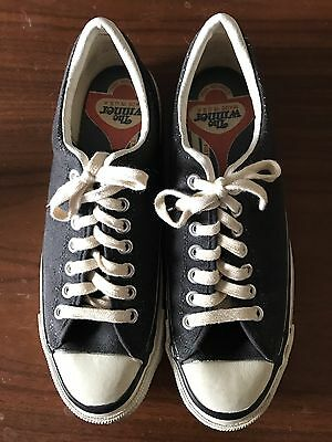 Vintage Converse The Winner Mens Size 10 Shoe - 1970's In Excellent Condition