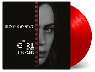 Girl On The Train - Soundtrack 180g RED COLOURED  vinyl LP Danny Elfman