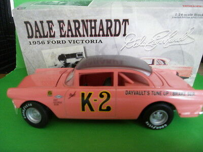 Action 1956 Ford Victoria K-2 Dale Earnhardt 1:24 Diecast Car