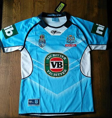 New South Wales State of Origin Home Rugby League Jersey Size XL - brand new