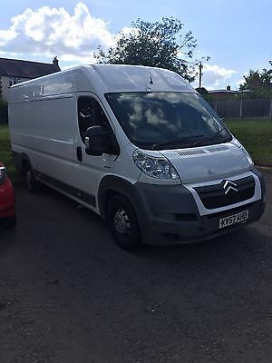 Citroen relay xlwb 2007 120bhp spares or repair no reserve