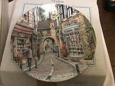 Royal Doulton Collectors Plate, 'The China Shop. Boxed with certificate of authe