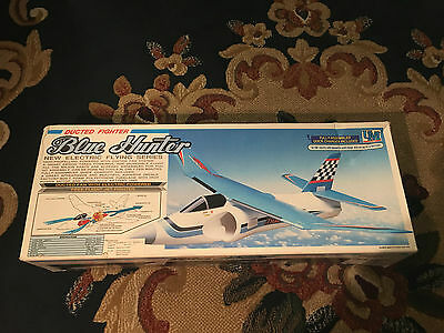 UNION MODEL BLUE HUNTER DUCTED FIGHTER  FREE FLIGHT JET no graupner