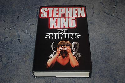 Stephen King The Shining Uk 1St Edition 6Th Print Hardback Book Hb First Horror