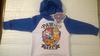 Paw Patrol / Hoodie Jumper / Boys / Sizes 2, 3, 4 and 5.