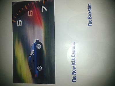 Porsche 996 911 Carrera Coupe And Boxster Sales Brochure Poster 1998-99
