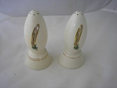 Salt & Pepper, Coors Pottery, Colorado, Good Condition.