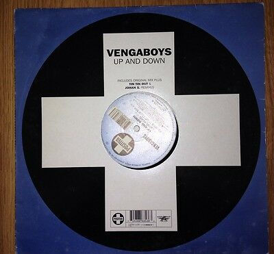 "Vengaboys Up And Down 12"" Vinyl DJ GBX Trance House Old Skool Rave Techno ATB"
